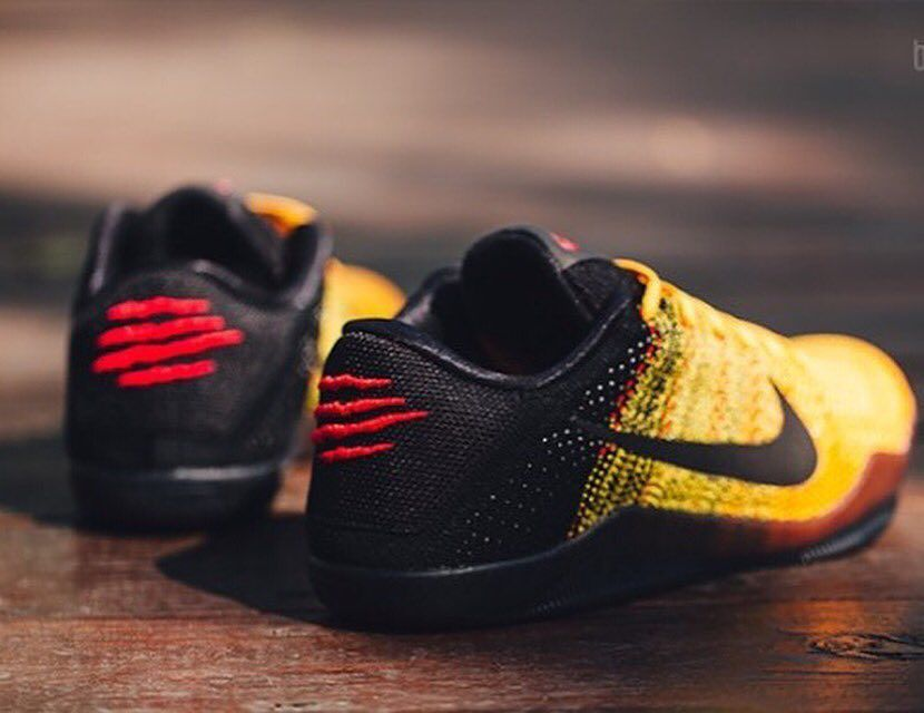 94eb0f4d18d ... clearance get yours kickbackzny the bruce lee version of the nike kobe  11 sports e384a d51a4