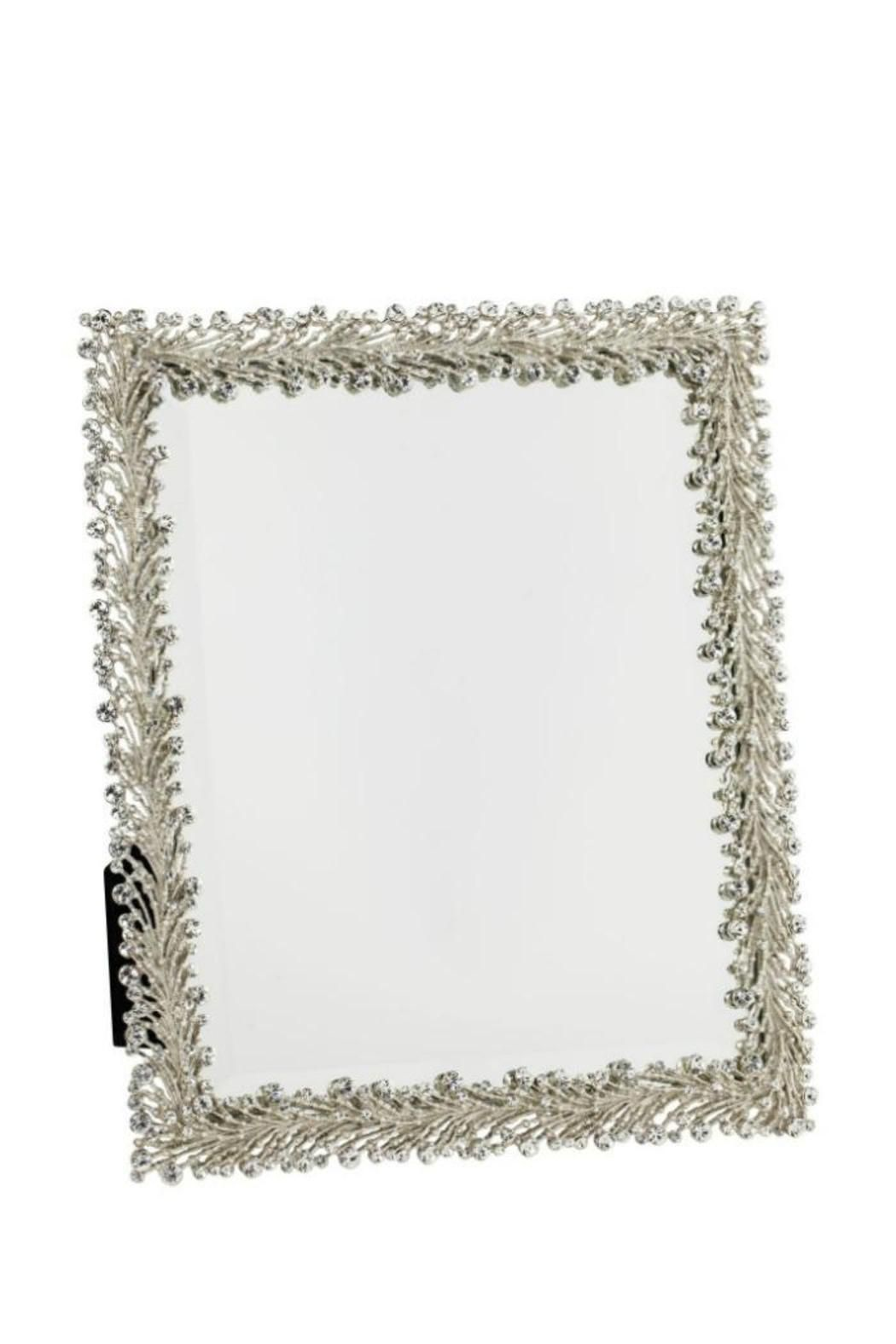 Stunning freestanding mirror finished with silver and Swarovski crystals. This mirror will be the perfect touch of elegance to your vanity!   Twinkles Standing Mirror  by Olivia Riegel. Home & Gifts - Gifts & Things River North, Chicago, Illinois