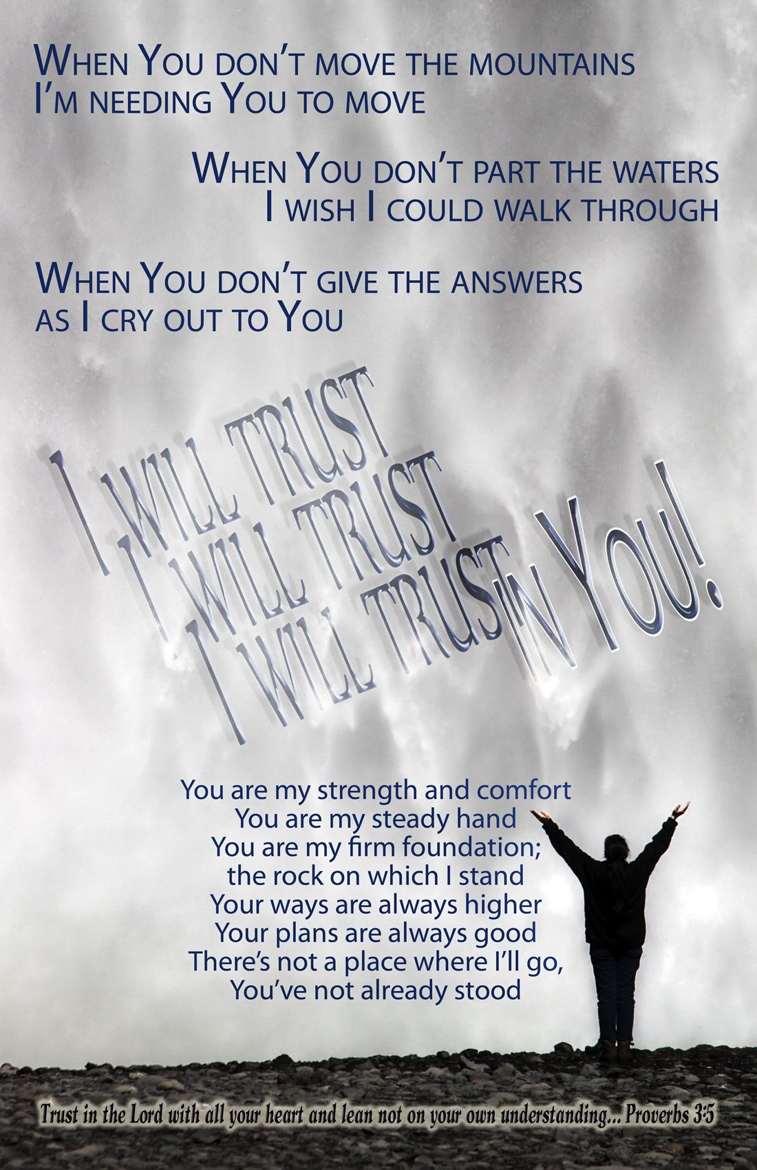 FAITH FIRST - JESUS, I WILL LYRICS