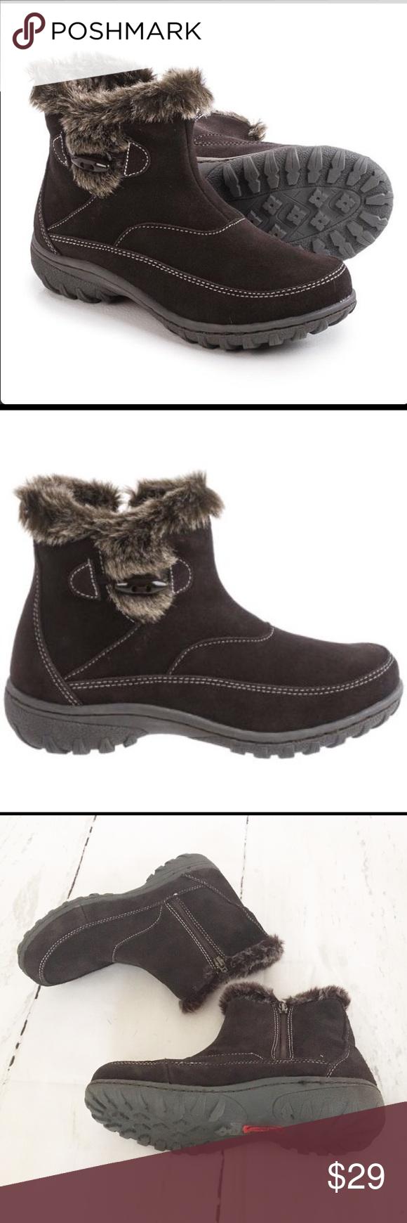 7c393b20866 Khombu Gracie Chocolate Brown Boots Size 9 Khombu Gracie Chocolate Brown Boots  Size 9. Selling