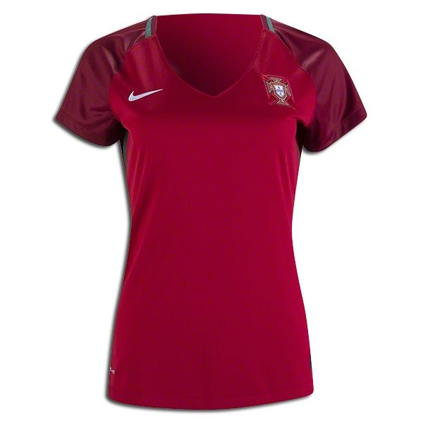 2018 FIFA World Cup Portugal Women's Home Soccer Jersey