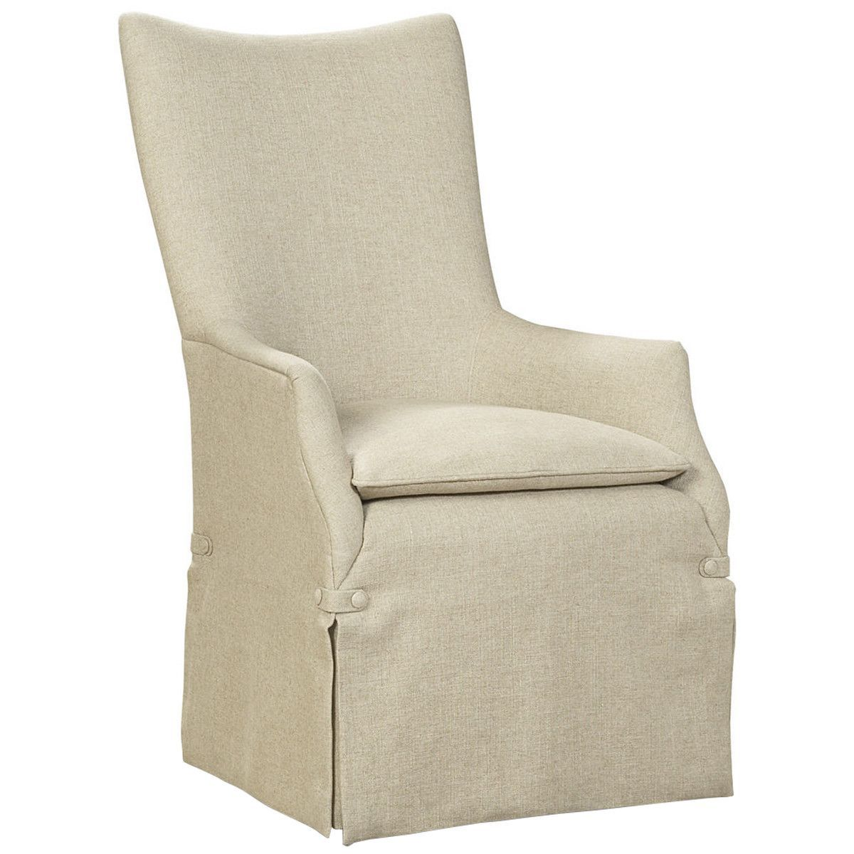 Caracole Classic Watch My Back Arm Chair