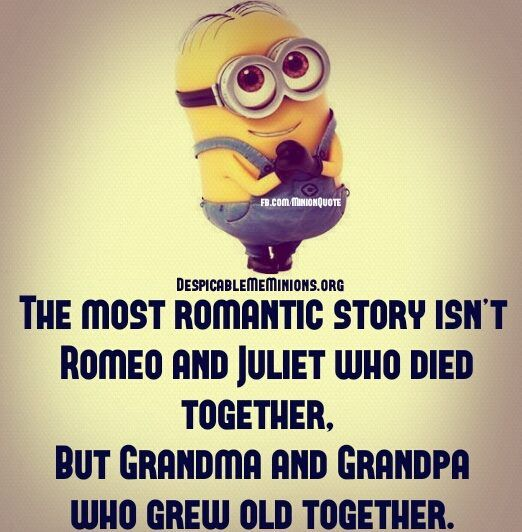 The Most Romantic Story Minion Quotes Minions Minions Quotes