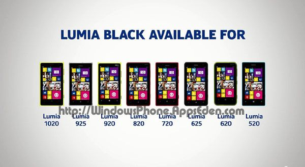 Nokia releases Lumia Black software update for 520, 520T