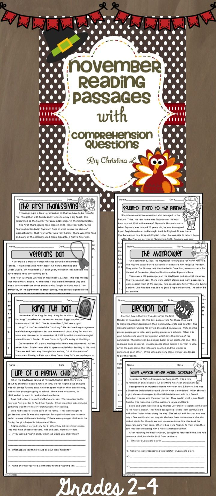 Here Are Some Non Fiction Reading Passages Filled With Lots Of Fun Facts About The Month Of November Use November Reading Reading Passages Elementary Reading [ 1656 x 720 Pixel ]