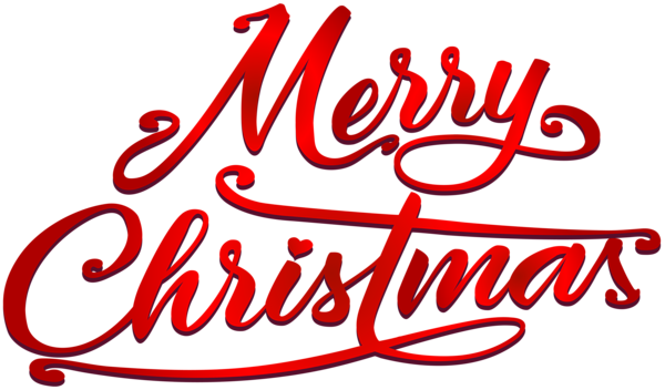 Merry Christmas Text PNG Clip Art Image Merry christmas
