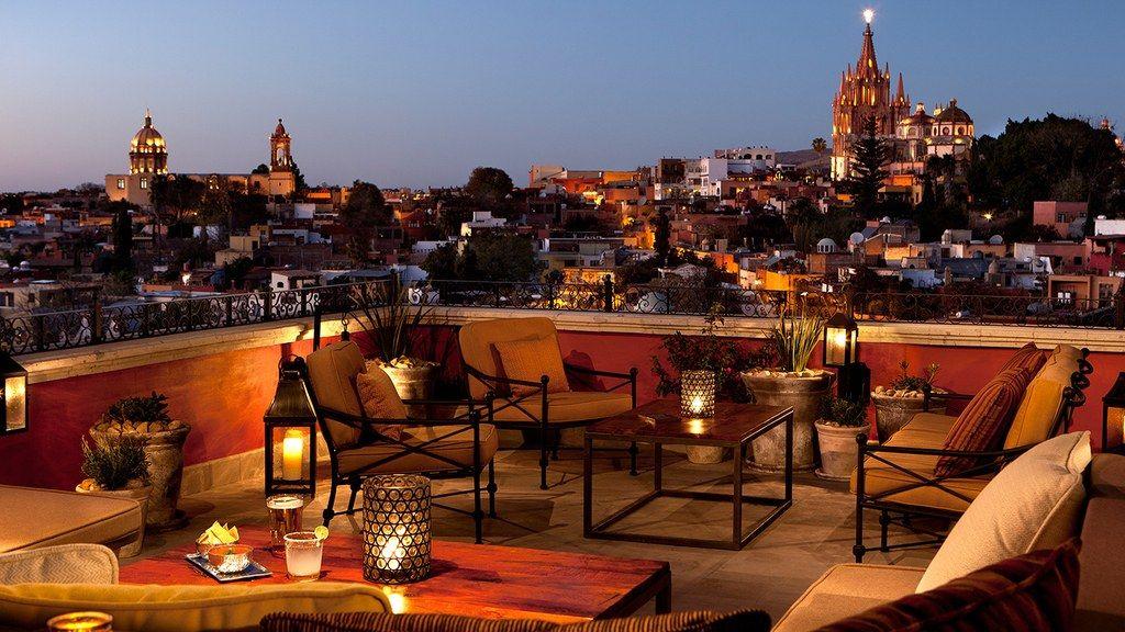 The Best Rooftop Restaurants In San Miguel De Allende Best Rooftop Bars San Miguel De Allende San Miguel
