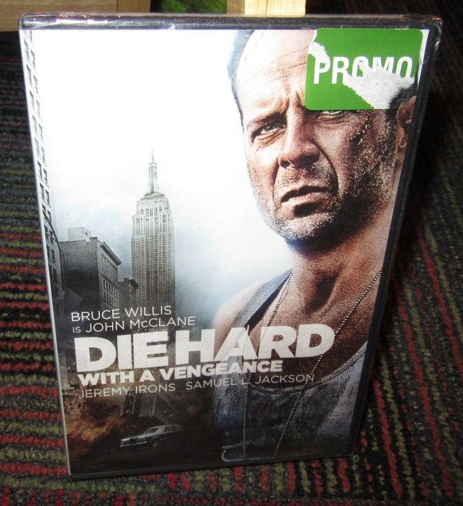 Die Hard 3 Die Hard With A Vengeance Dvd Movie Bruce Willis