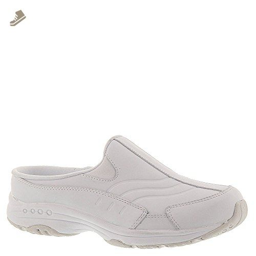 d21b32586567c Easy Spirit Travel Time Women's Slip On 9 2A(N) US White - Easy ...