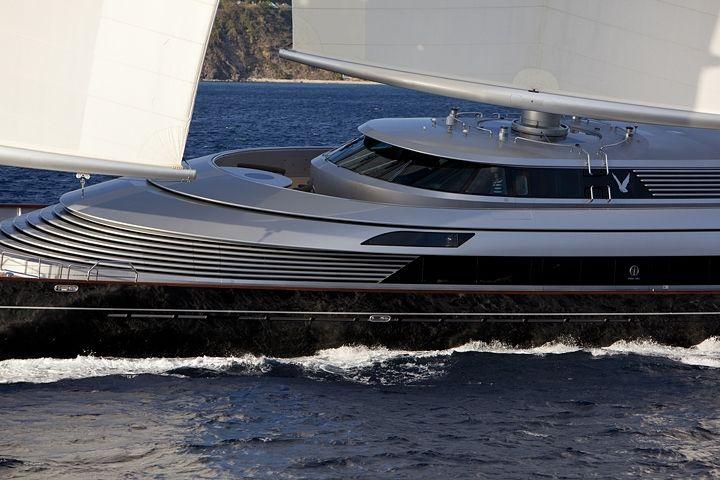 The Maltese Falcon 88m Design Perini Navi Sailing Yacht Yacht
