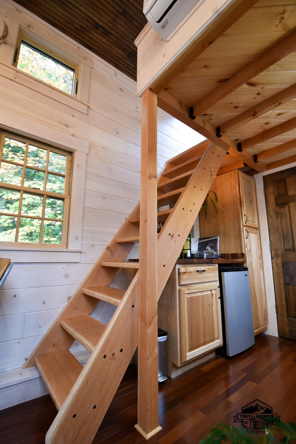 Phenomenal A Charming One Bedroom Tiny House On Wheels Designed And Complete Home Design Collection Papxelindsey Bellcom