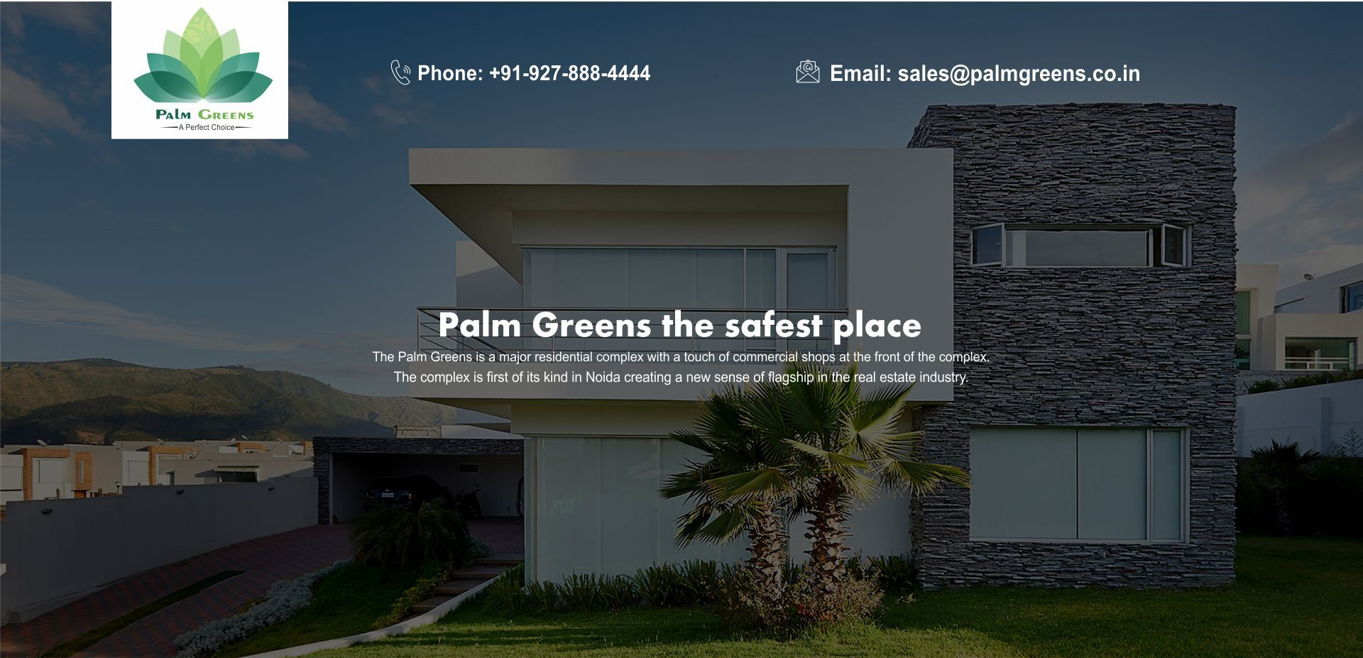 Palm Greens Palm Greens Noida Extension. Real estate