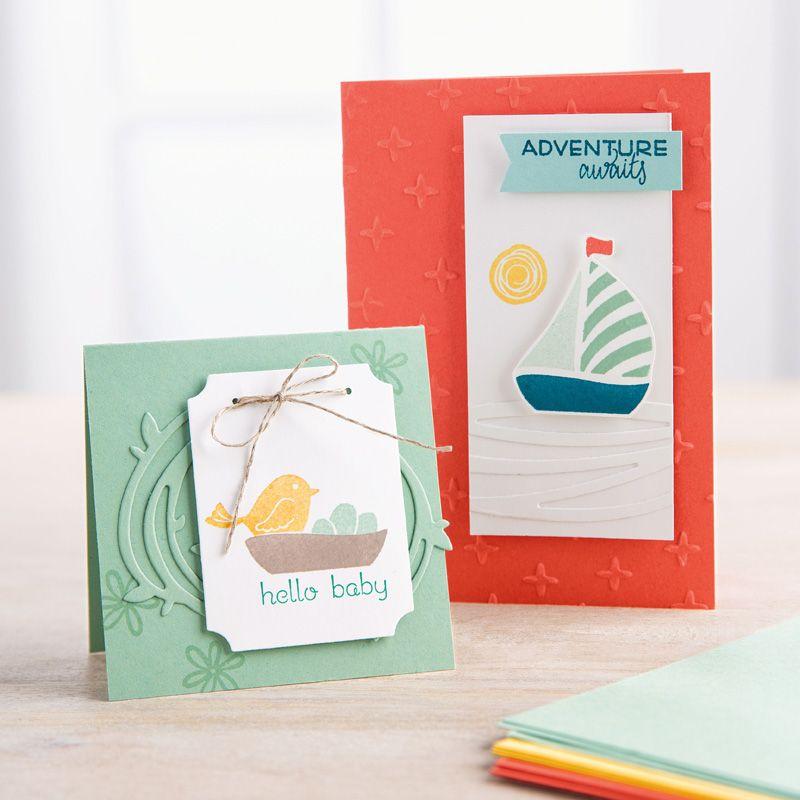 Swirly Bird Photopolymer Bundle by Stampin' Up!