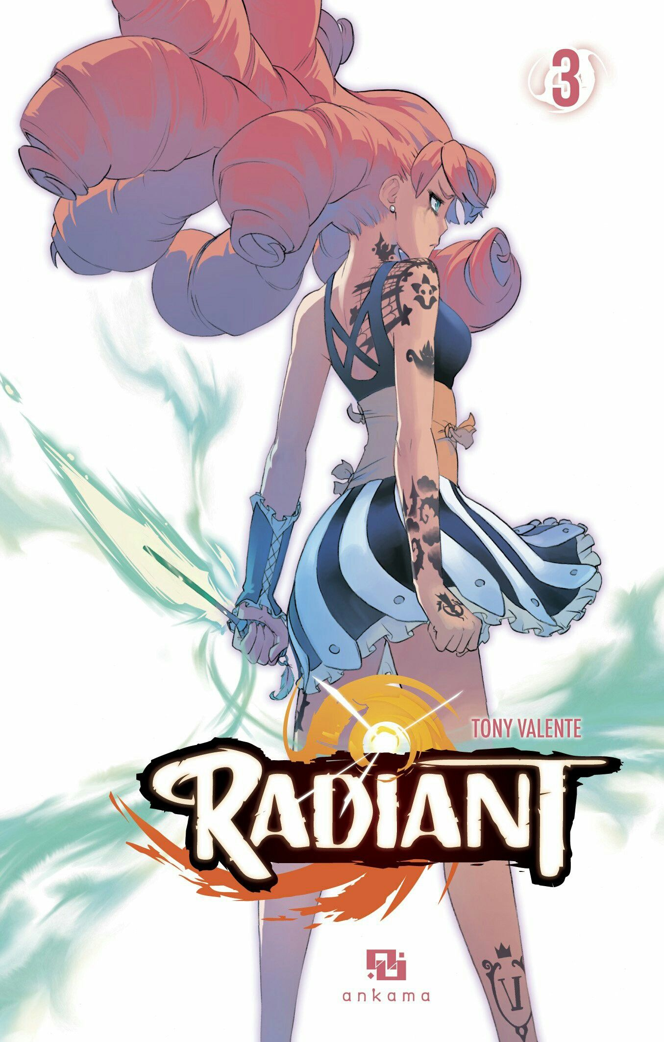 Radiant 3 Tony Valente Anime