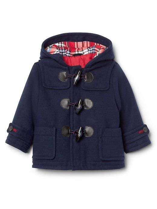 9bf20f37b4793 Gap Baby Toggle Duffle Coat Navy Size 0-6 M