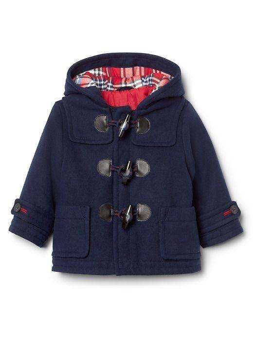 c59ae1284f27 Gap Baby Toggle Duffle Coat Navy Size 0-6 M