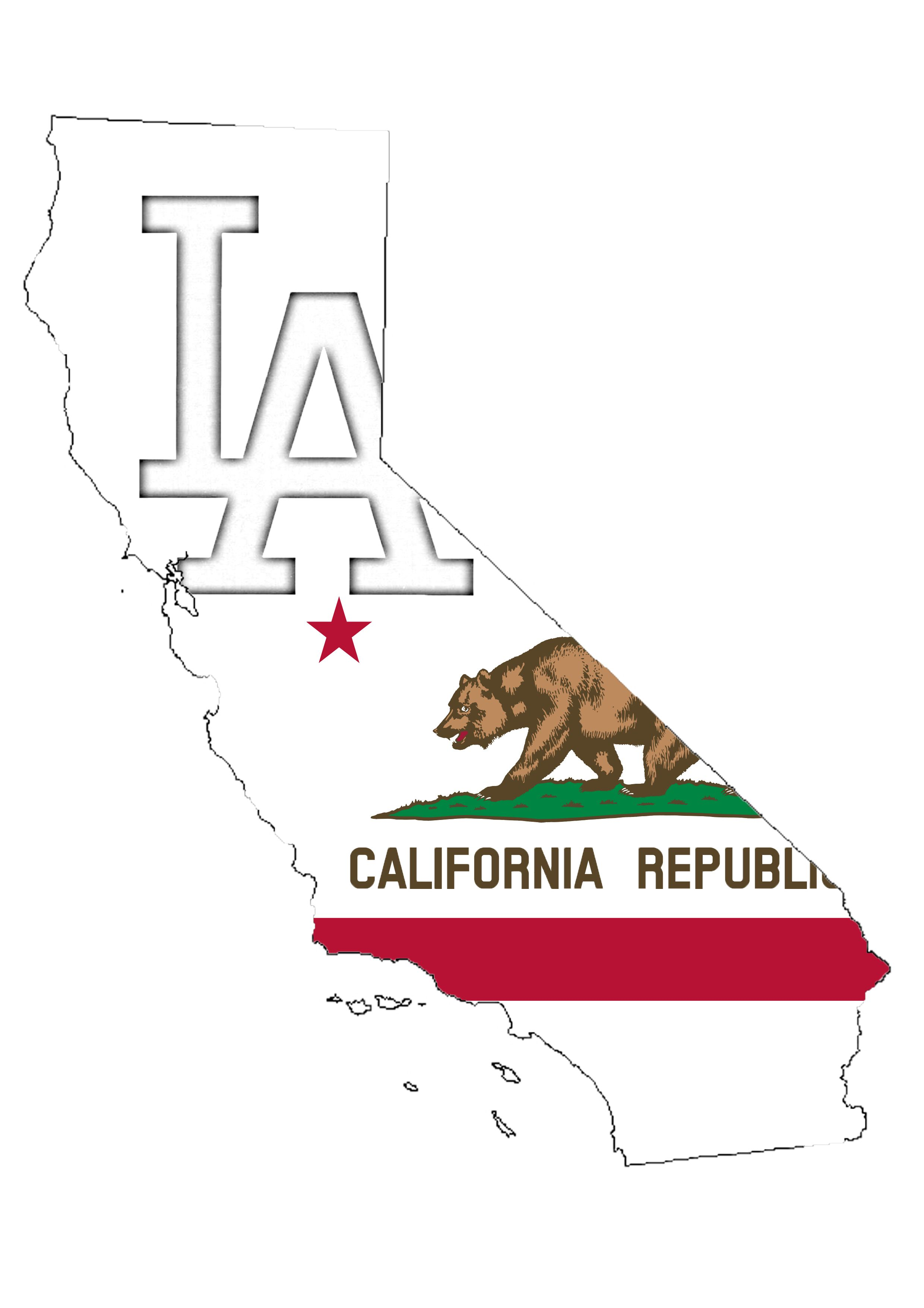 Los angeles california tattoo idea california bear