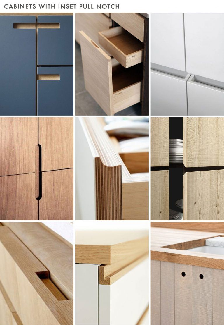 Is No Hardware The New Hardware Trend For Kitchens Modern