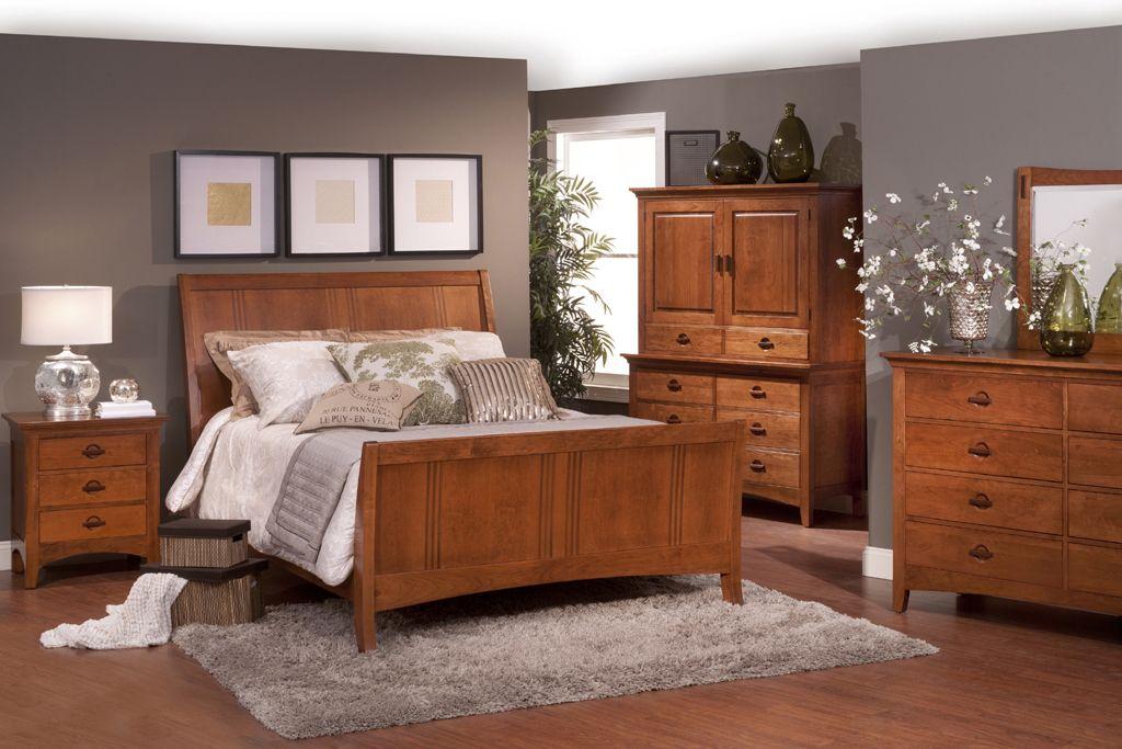 Shaker Style Bedroom Furniture Oak Bedroom Furniture Cherry