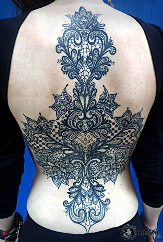 tatouage dentelle projets essayer pinterest tatouage tatouage dentelle et tatouage f minin. Black Bedroom Furniture Sets. Home Design Ideas
