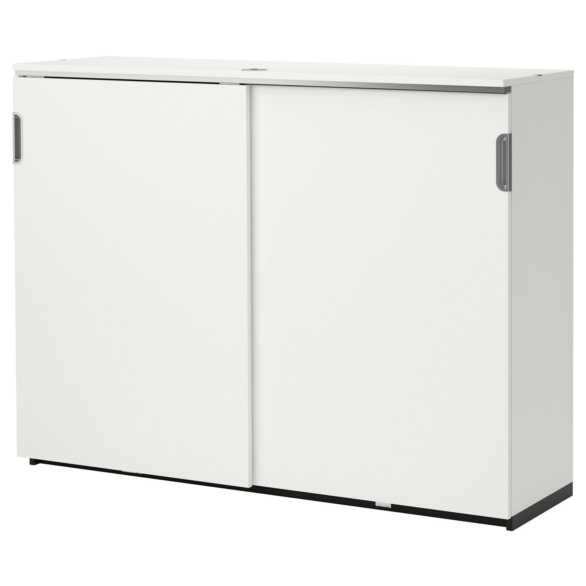 Bike storage? | GALANT Cabinet with sliding doors - white - IKEA ...