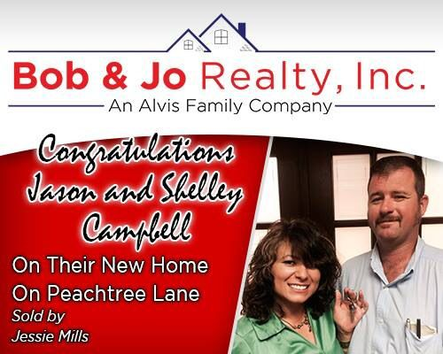 Sold by Jessie Mills Bob and Jo Realty