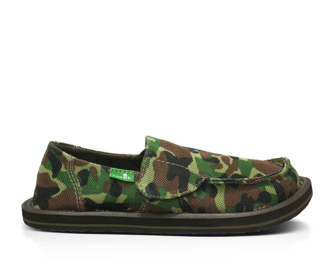 Shop Sanuk for the Army Brat sidewalk surfers for toddlers. Free returns & exchanges. Sanuk - smile, pass it on.