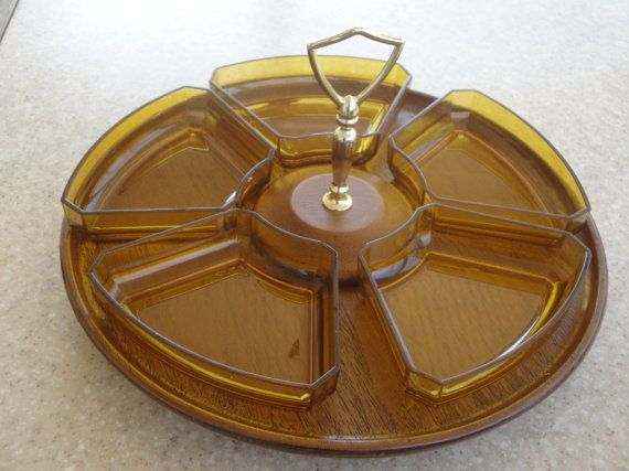 I always wanted a lazy susan...the more vintage it is, the more I like it.