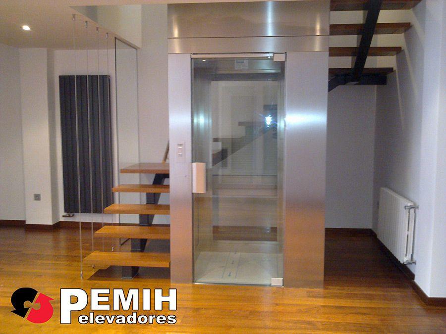 Ascensores montacargas para personas elevadores y - Ascensores para viviendas unifamiliares ...