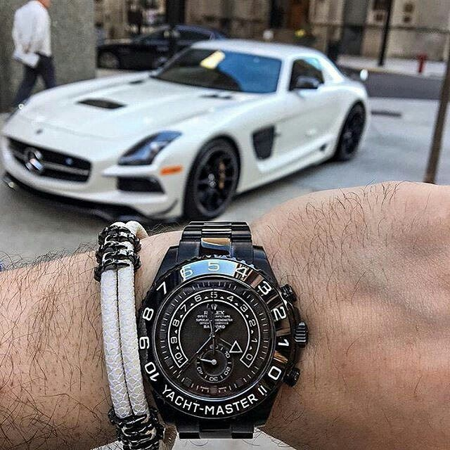 Bamford Rolex X Sting Hd B453 X Mercedes Benz Sls Via Watchcrazy