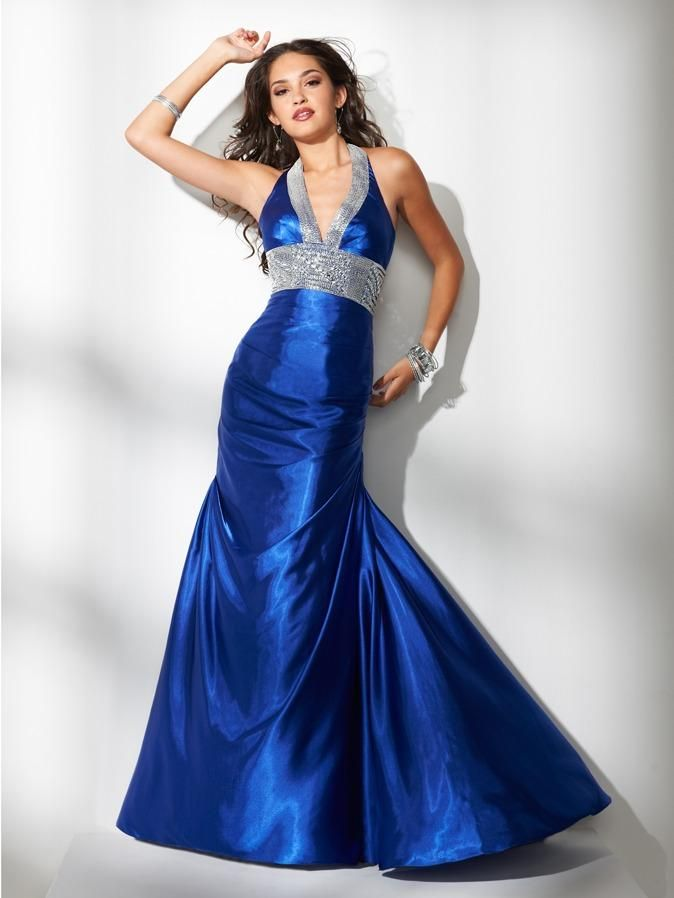 Orchid color prom dresses
