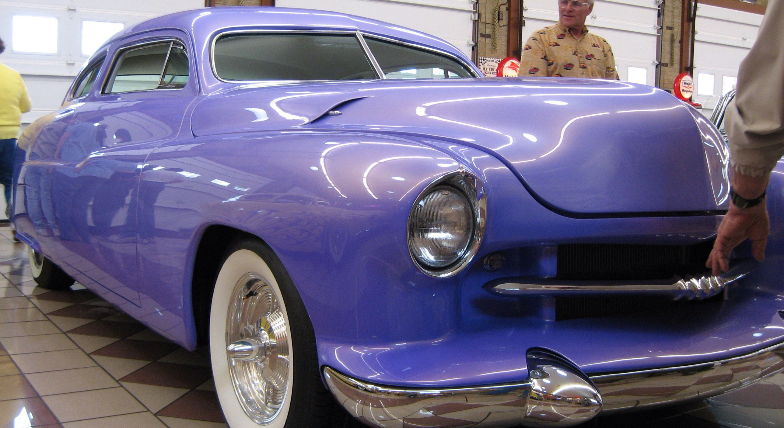 Neat old custom at Ed Brown\'s Garage. | Planes, Trains, and ...