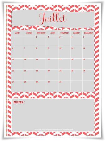Planning juillet 2015