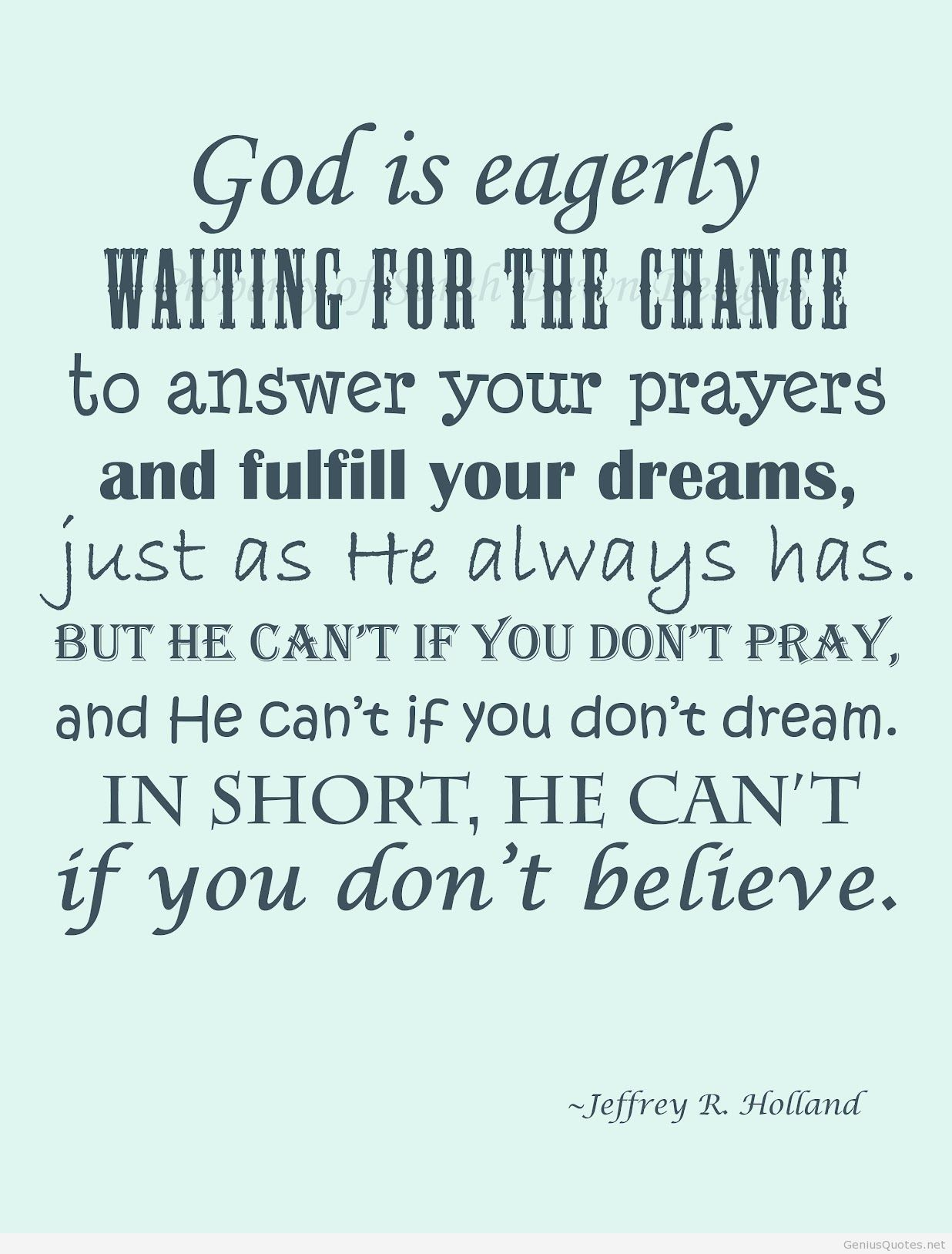 So lucky I was brought up to believe and pray | LDS | Pinterest ...