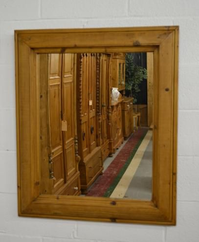 Pine Framed Mirror | The Great British Pine Mine