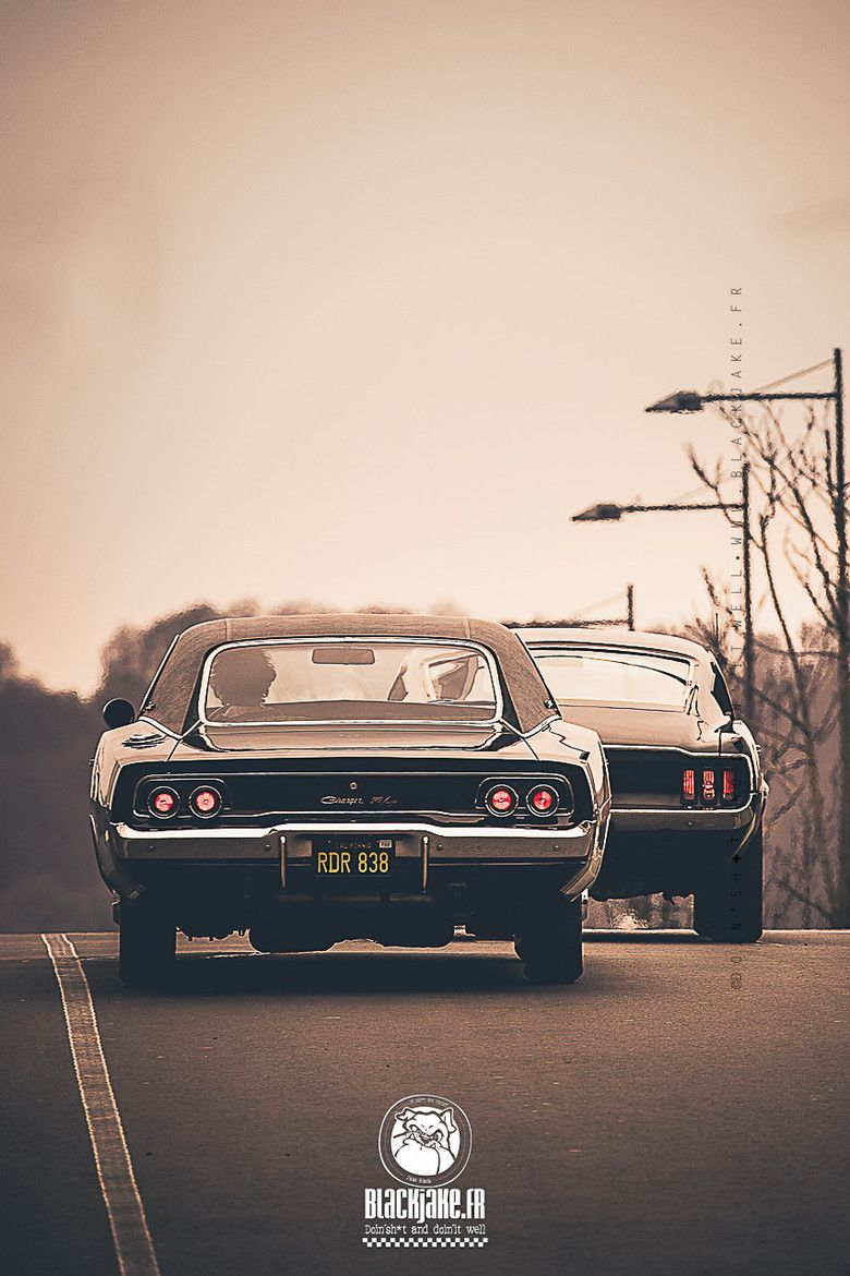 Gt Charger: Bullitt. Epic Movie Starring Steve McQueen