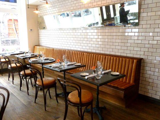 Captivating Built In Banquette. Restaurant ...