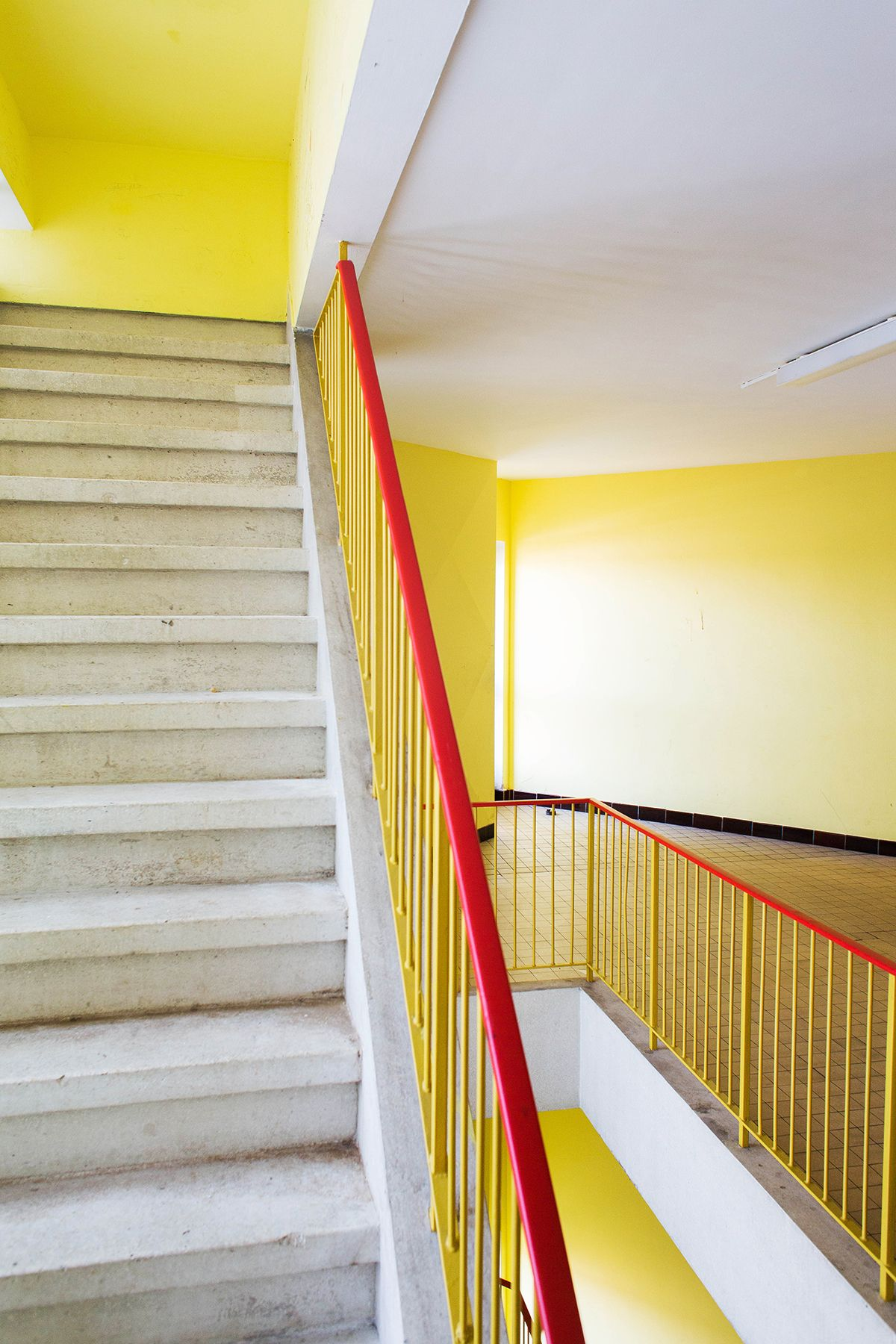 Social housing project kiel by renaat braem all items for Interior design kiel