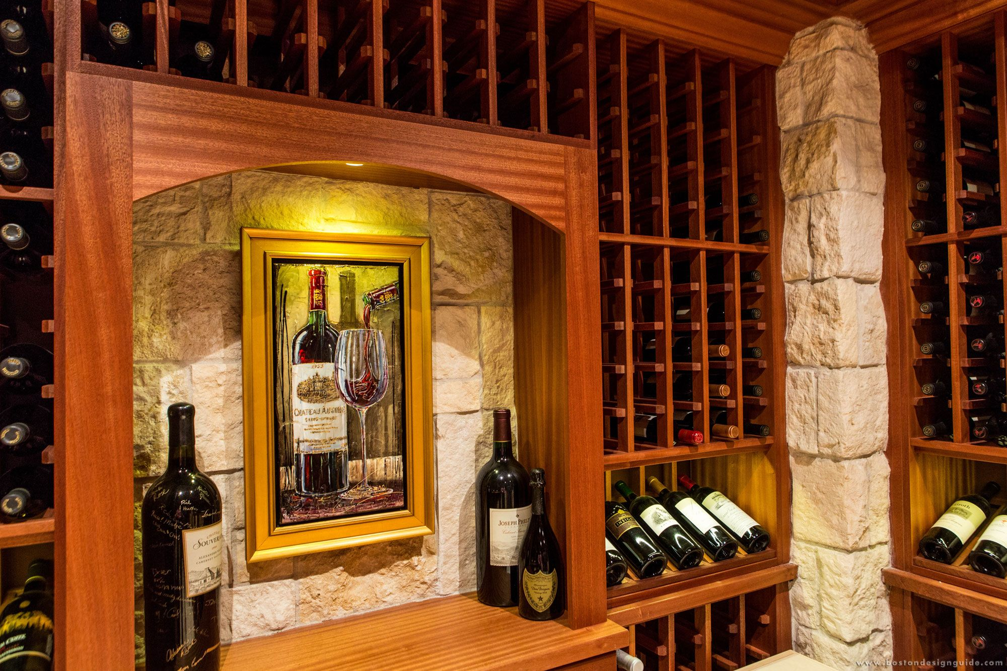 Charles River Wine Cellars - High End Custom Residential Wine