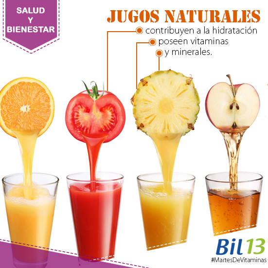 Los Jugos de frutas naturales, tienen muchos beneficios y son ...