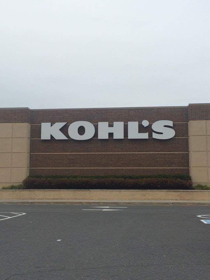 1 #OFF LINE SOURCE, Kohl's sign  #san serif font similar to