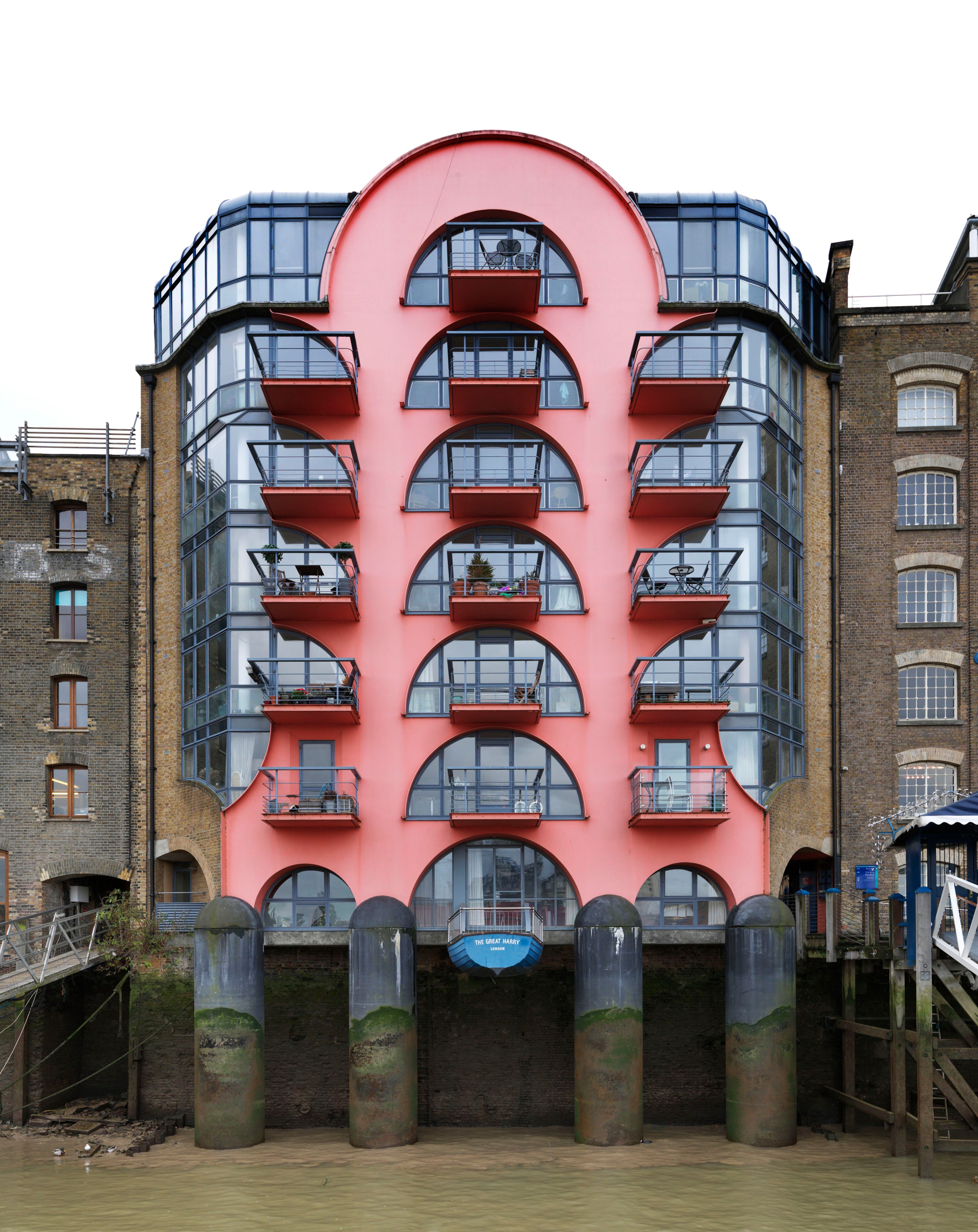 Listed Postmodern Buildings In Pictures Post Modern Architecture Postmodernism Modern Architecture