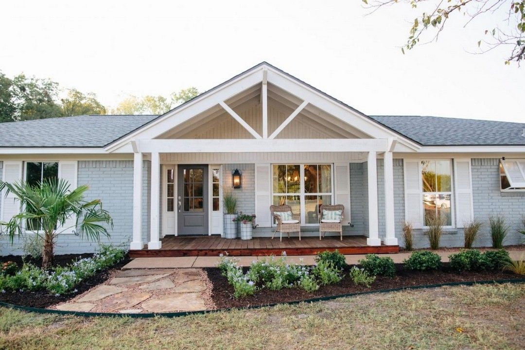 Great Front Porch Addition Ranch Remodeling Ideas | Ranch ... on Back Deck Ideas For Ranch Style Homes  id=95006