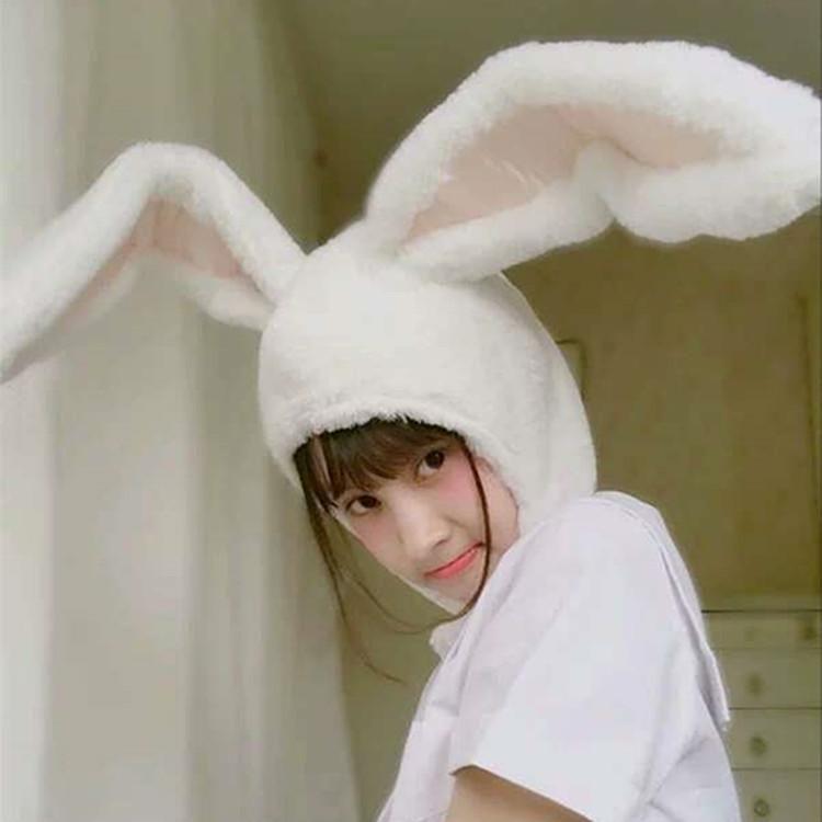 Plush Animal Faux Fur Costume Hat Animal Cosplay Winter Rabbit Bunny Fur Hats