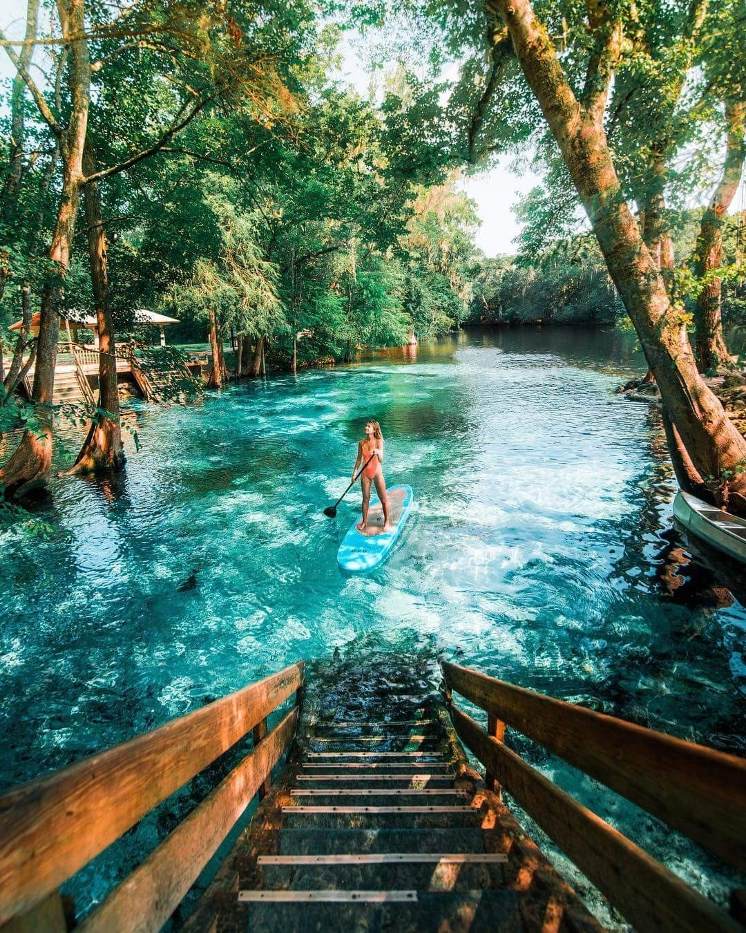 Ginnie Springs, Florida Perfect For River Tubing, Swimming