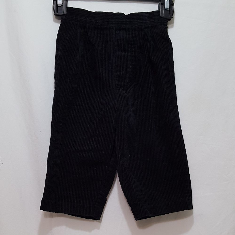 292c440e64c Corduroy Black Pants Size 18 Months Pull On Boys Girls  Pants   DressyEverydayHoliday