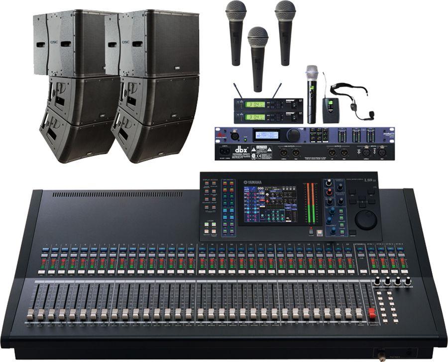 qsc kla church sound system qsc kla12 active line array system qsc kla181 line array subwoofer. Black Bedroom Furniture Sets. Home Design Ideas
