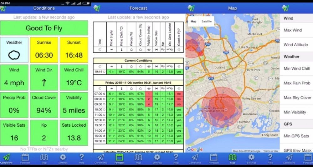 About UAV Forecast A Simple Yet Amazing App For Drone