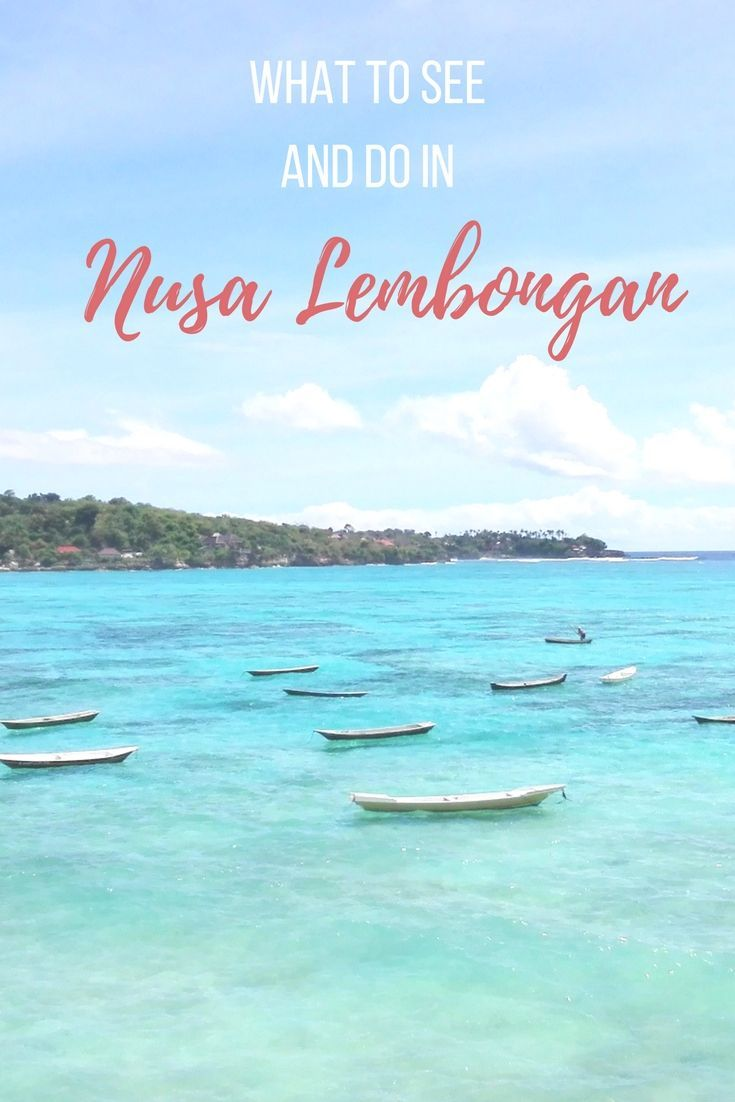 What to see and do in Nusa Lembongan #bali in #indonesia