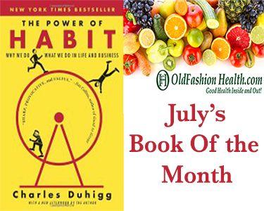 Book of the month  @www.oldfashionhealth.com